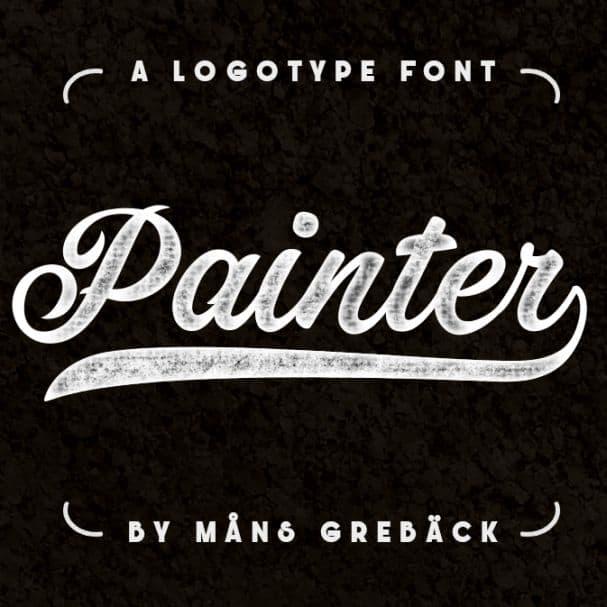 Painter шрифт скачать бесплатно
