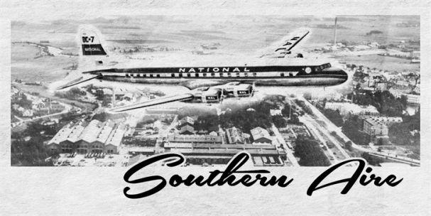 Southern Aire шрифт скачать бесплатно