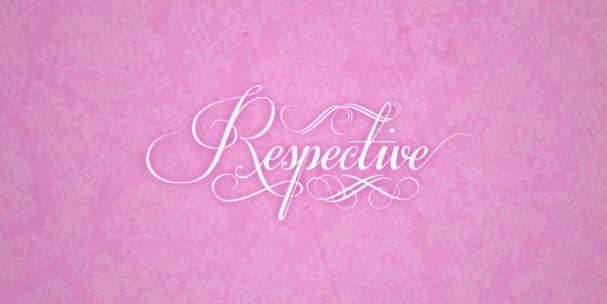 Respective font шрифт скачать бесплатно