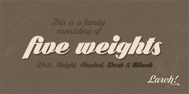 Shaded Larch шрифт скачать бесплатно