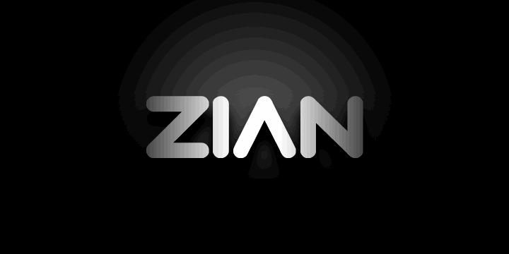 Zian шрифт скачать бесплатно