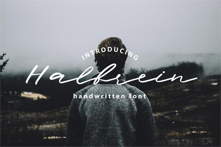Halbrein шрифт скачать бесплатно