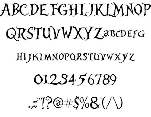 Alice in Wonderland шрифт скачать бесплатно