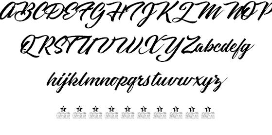 Black Diamonds шрифт скачать бесплатно