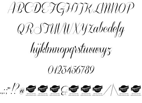 Coneria Script шрифт скачать бесплатно