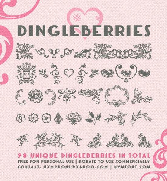 Dingleberries шрифт скачать бесплатно