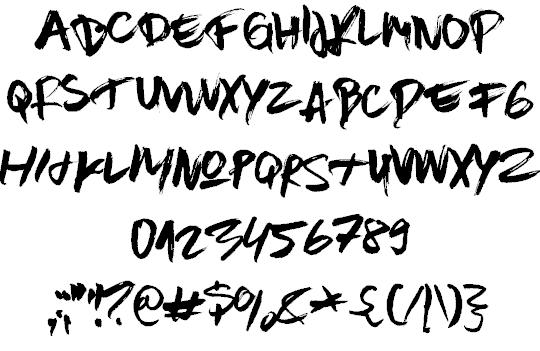 Brown Fox шрифт скачать бесплатно