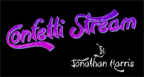 Confetti Stream шрифт скачать бесплатно