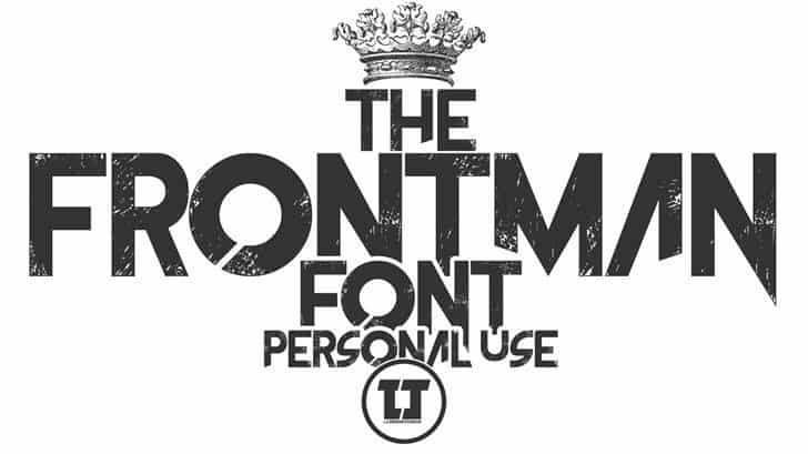 The Frontman шрифт скачать бесплатно