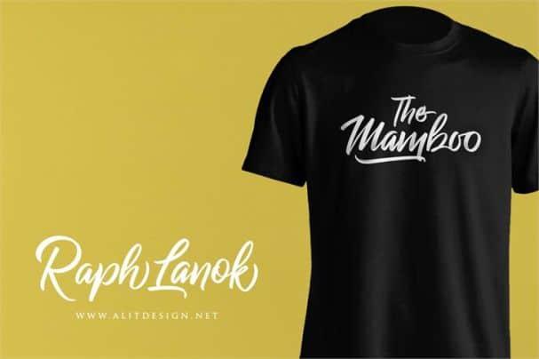 Raph Lanok Future font шрифт скачать бесплатно