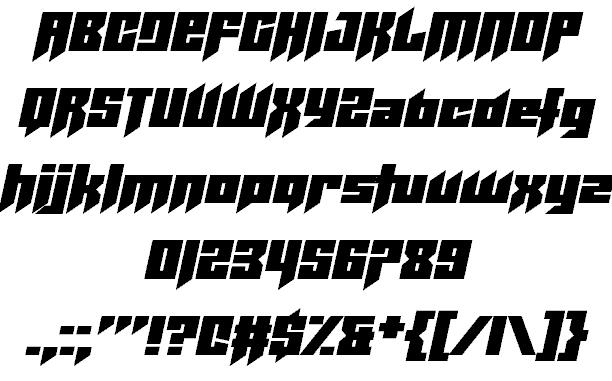 Helicopta шрифт скачать бесплатно
