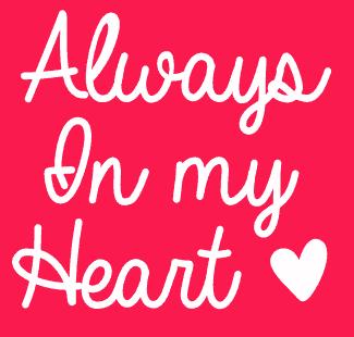 Always In My Heart шрифт скачать бесплатно