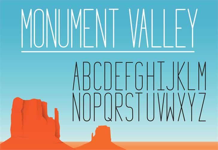 Monument_Valley_1.2 шрифт скачать бесплатно