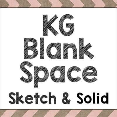 KG Blank Space Solid шрифт скачать бесплатно