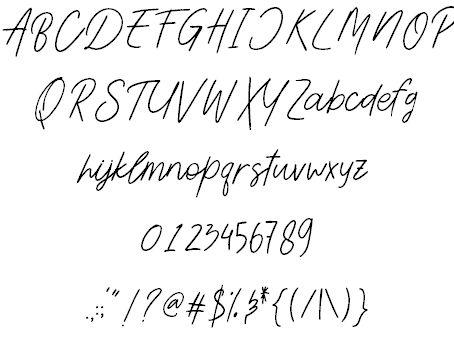 Aesthetik шрифт скачать бесплатно