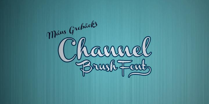 Channel шрифт скачать бесплатно