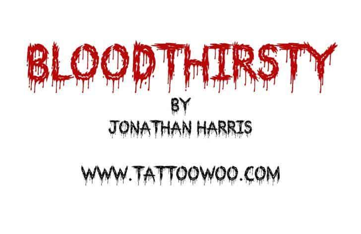 Bloodthirsty шрифт скачать бесплатно