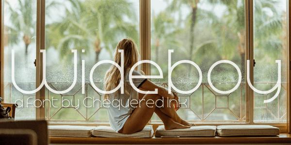 Wideboy шрифт скачать бесплатно