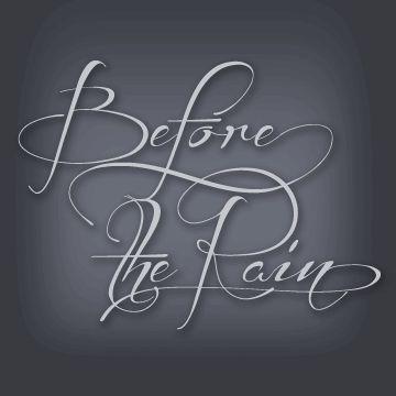 Before the Rain шрифт скачать бесплатно