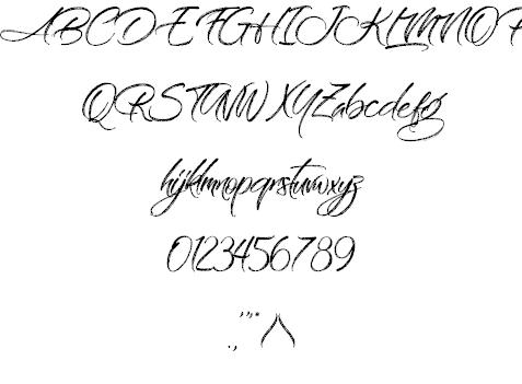 On the Rings шрифт скачать бесплатно