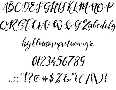 Dandeleon Vintage шрифт скачать бесплатно