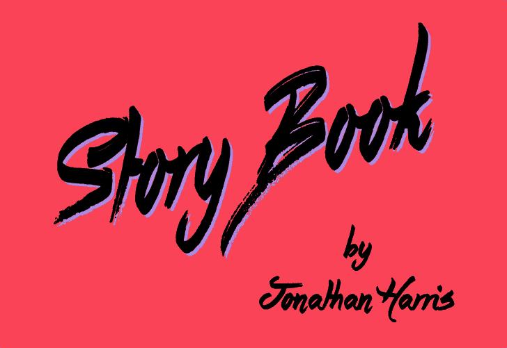Story Book шрифт скачать бесплатно