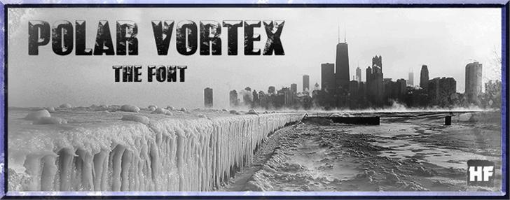 POLAR VORTEX шрифт скачать бесплатно
