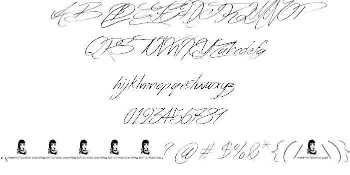 Across the Road шрифт скачать бесплатно