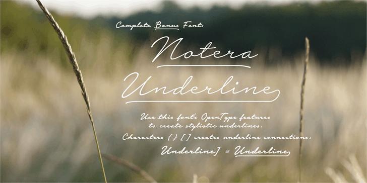 Notera 2 шрифт скачать бесплатно