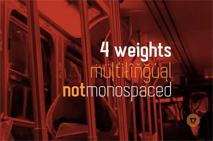 Autobus Bold шрифт скачать бесплатно