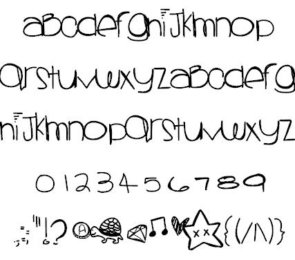 Sprinklescolors шрифт скачать бесплатно