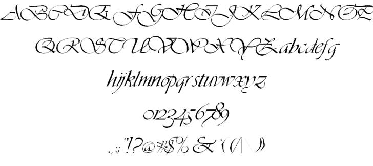 Hanford Script шрифт скачать бесплатно