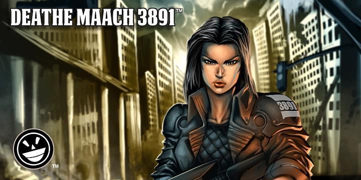 DEATHE MAACH NCV шрифт скачать бесплатно