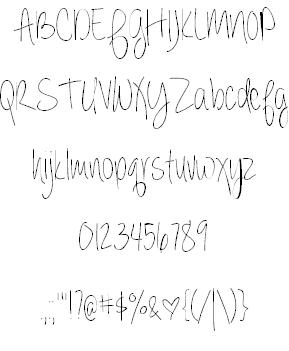 Always forever шрифт скачать бесплатно
