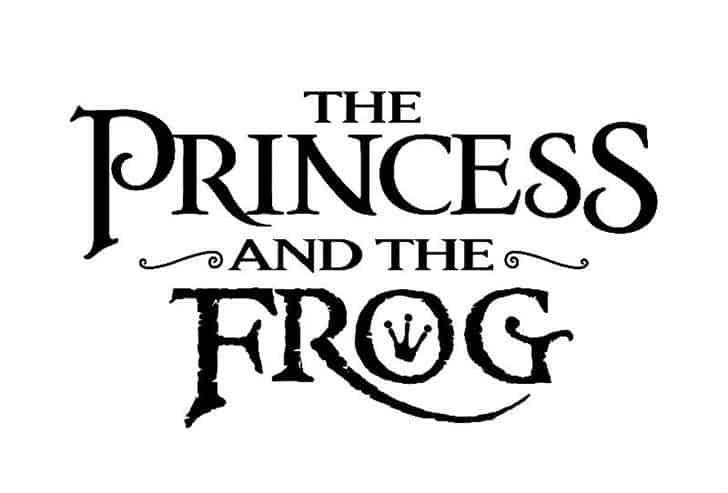PrincesS AND THE FROG шрифт скачать бесплатно