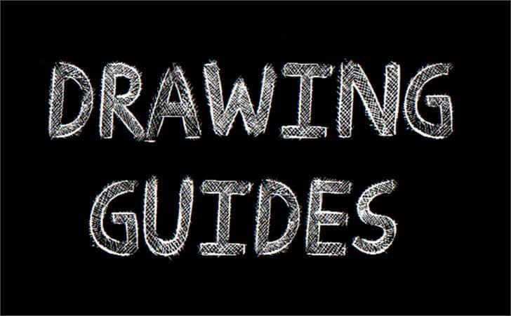 Drawing Guides шрифт скачать бесплатно