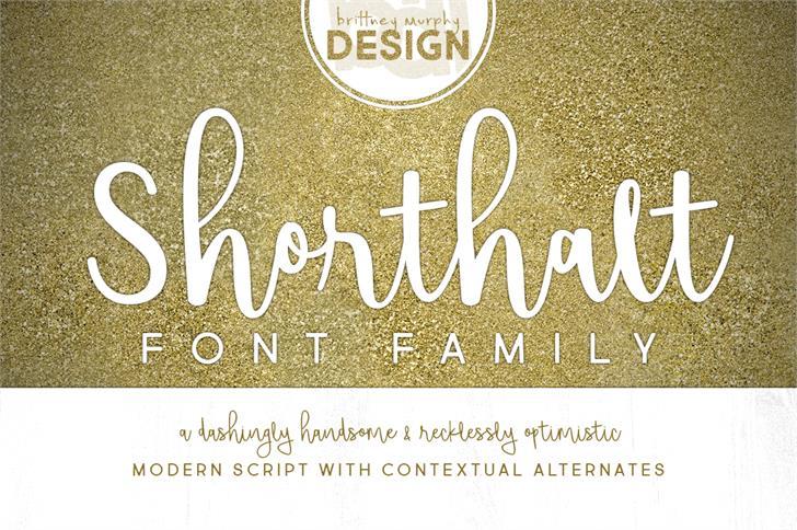 Shorthalt шрифт скачать бесплатно