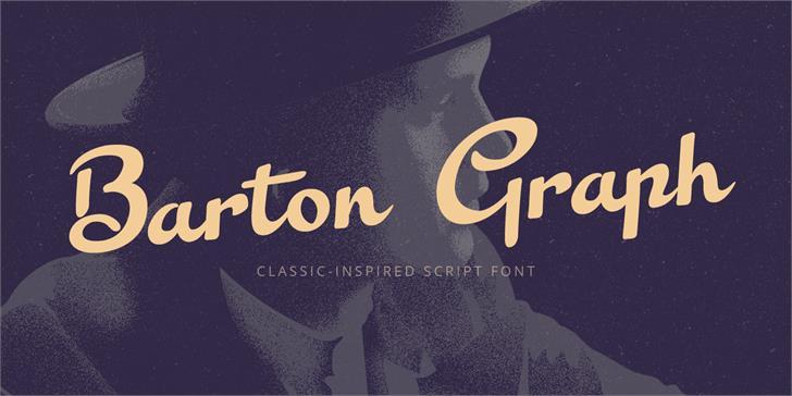 Barton Graph шрифт скачать бесплатно
