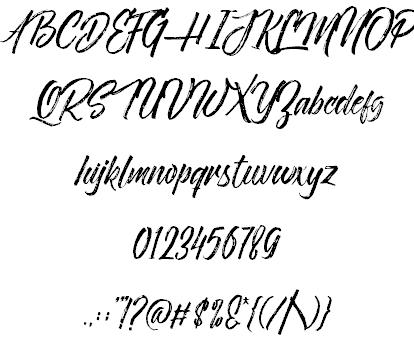 Novitha ScriptDemo шрифт скачать бесплатно