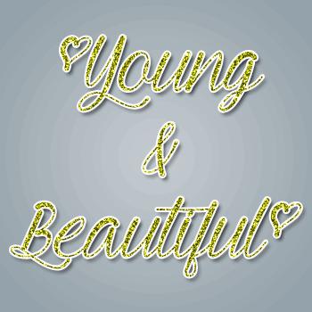 Young & Beautiful шрифт скачать бесплатно