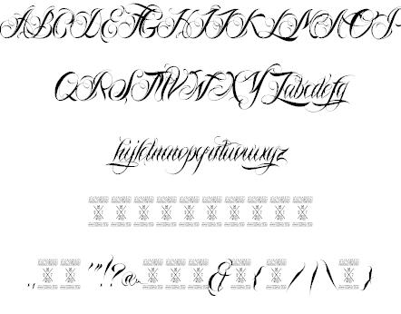 Nina Script шрифт скачать бесплатно