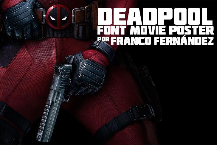 Deadpool Movie шрифт скачать бесплатно