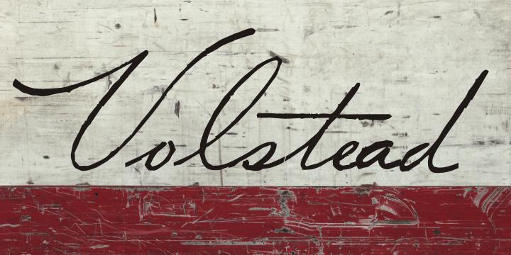 Volstead шрифт скачать бесплатно