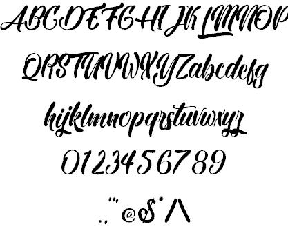 Black Party шрифт скачать бесплатно