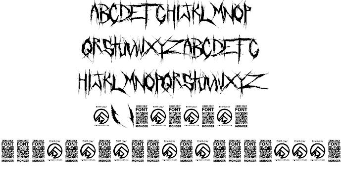 Crucifixion шрифт скачать бесплатно