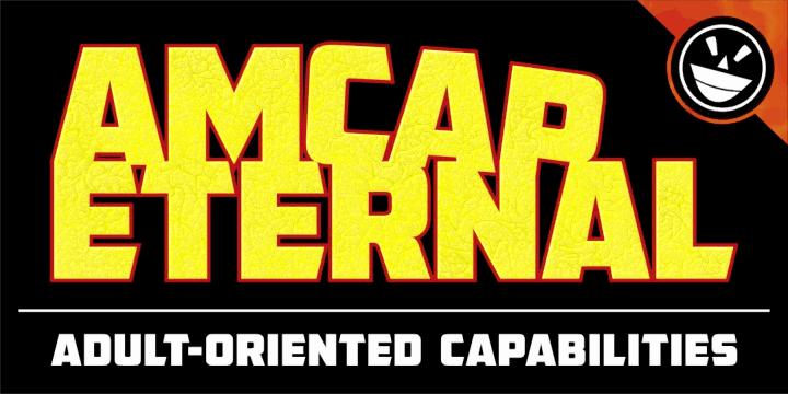 AMCAP Eternal шрифт скачать бесплатно
