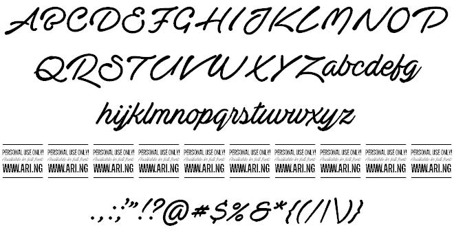 Actonia Hand шрифт скачать бесплатно