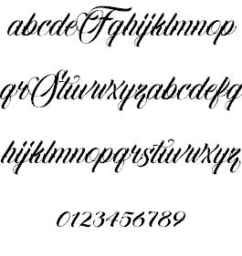 Familia Script шрифт скачать бесплатно
