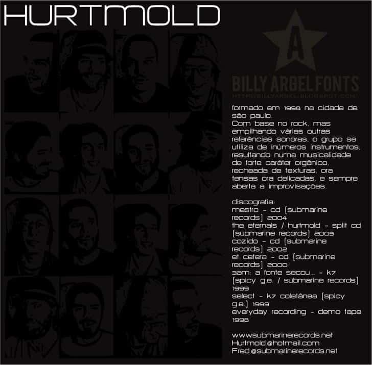 HURTMOLD шрифт скачать бесплатно