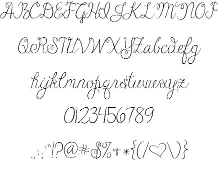 Janda Cheerful Script шрифт скачать бесплатно